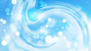 Abstract Blue and White Blur Lights Background Image