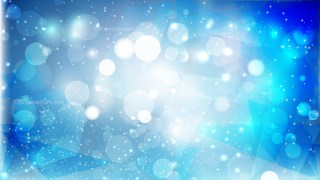 Abstract Blue and White Lights Background Design