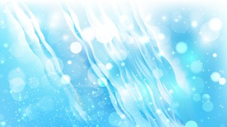 Abstract Blue and White Defocused Lights Background Design