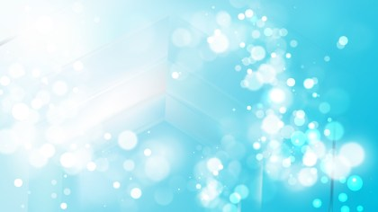 Abstract Blue and White Defocused Background Vector