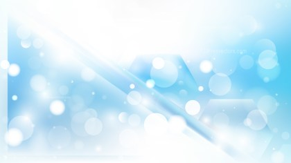 Abstract Blue and White Lights Background Image