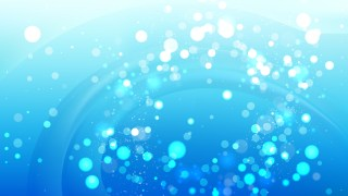 Abstract Bright Blue Lights Background Image