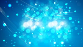 Abstract Bright Blue Defocused Background Image