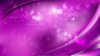 Abstract Bright Purple Bokeh Defocused Lights Background Design