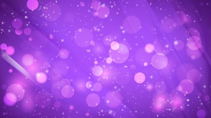 Abstract Bright Purple Bokeh Background
