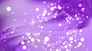 Abstract Bright Purple Blurred Lights Background