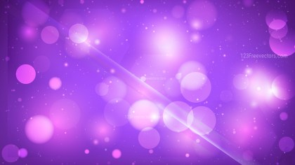 Abstract Bright Purple Defocused Lights Background