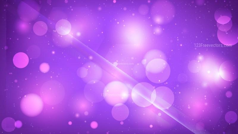 Abstract Bright Purple Defocused Lights Background