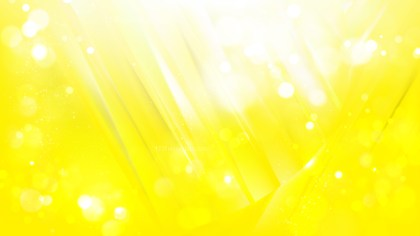 Abstract Bright Yellow Blur Lights Background Vector