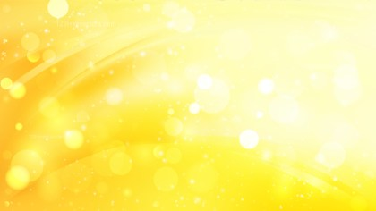 Abstract Bright Yellow Lights Background Vector