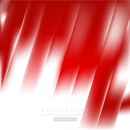 Red White Striped Background