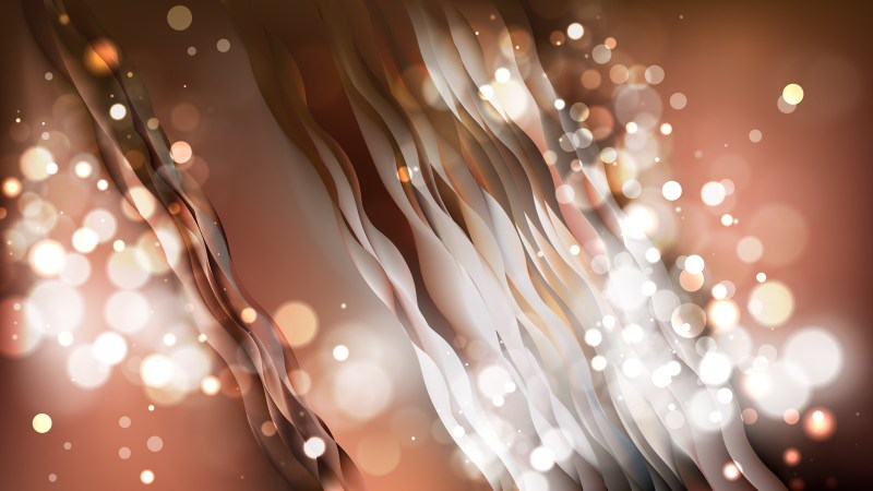 Abstract Brown Blurred Lights Background Image