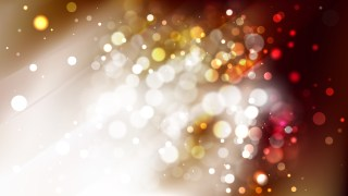 Abstract Brown and White Bokeh Defocused Lights Background