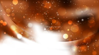 Abstract Brown and White Blurred Bokeh Background