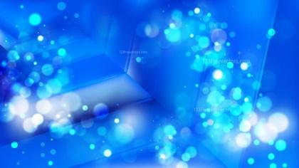 Abstract Cobalt Blue Lights Background Image