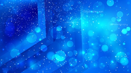 Abstract Cobalt Blue Blur Lights Background Design