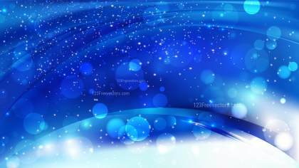 Abstract Cobalt Blue Defocused Background Design