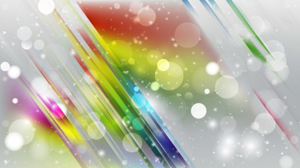 Abstract Colorful Bokeh Lights Background Image
