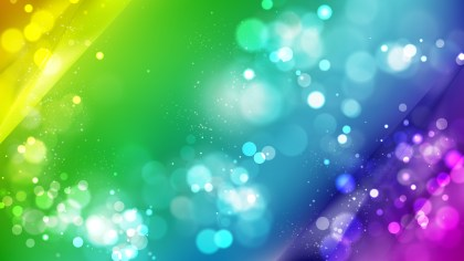 Abstract Colorful Blurred Lights Background Image