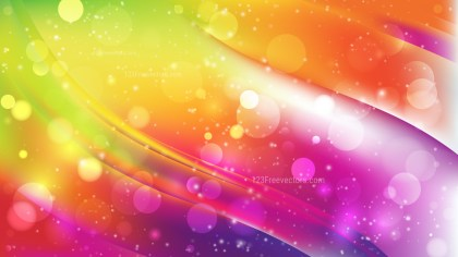 Abstract Colorful Defocused Lights Background Image