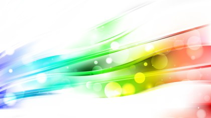 Abstract Colorful Bokeh Lights Background Design