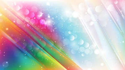 Abstract Colorful Bokeh Defocused Lights Background Design
