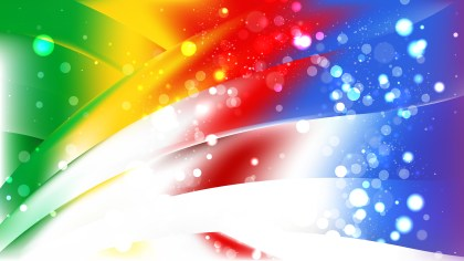 Abstract Colorful Bokeh Background Design