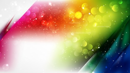 Abstract Colorful Blurred Bokeh Background Design
