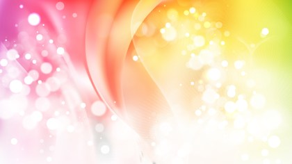 Abstract Colorful Blurred Lights Background