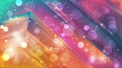 Abstract Colorful Defocused Lights Background