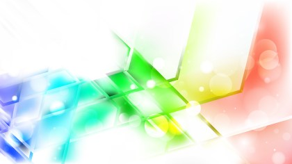 Abstract Colorful Blurred Bokeh Background