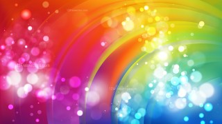 Abstract Colorful Blurred Lights Background Vector