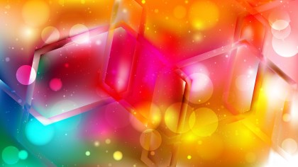 Abstract Colorful Defocused Background Vector