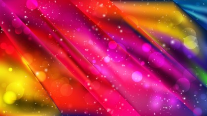 Abstract Colorful Defocused Lights Background Vector