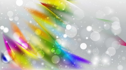 Abstract Colorful Blurred Bokeh Background Vector