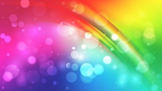 Abstract Colorful Bokeh Background Image