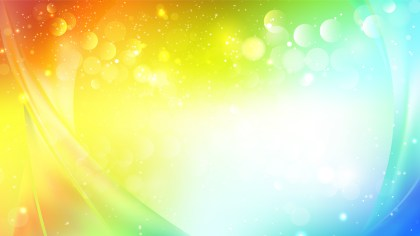 Abstract Colorful Blur Lights Background Image