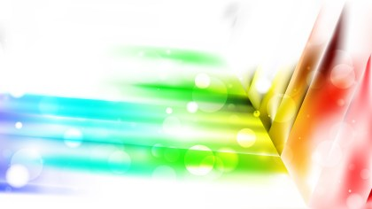 Abstract Colorful Blurry Lights Background Image