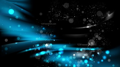 Abstract Cool Blue Blur Lights Background