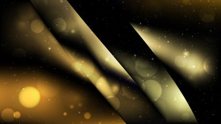 Abstract Cool Gold Blurred Bokeh Background Image