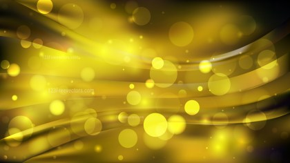 Abstract Cool Gold Lights Background Design