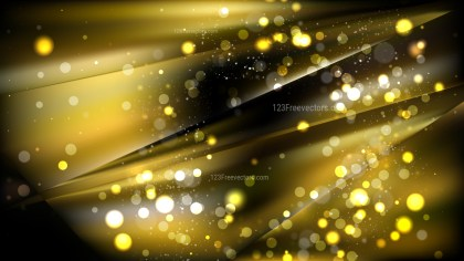 Abstract Cool Gold Defocused Background Design