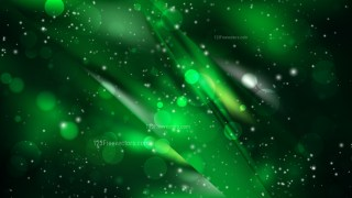 Abstract Cool Green Lights Background Design