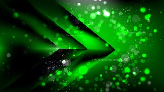 Abstract Cool Green Bokeh Background
