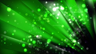 Abstract Cool Green Defocused Background