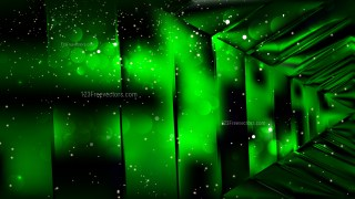 Abstract Cool Green Lights Background Vector