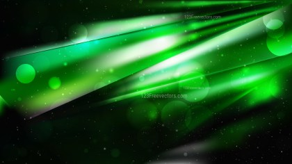 Abstract Cool Green Defocused Background Vector
