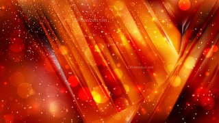 Abstract Cool Orange Blurry Lights Background Image