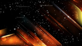 Abstract Cool Orange Lights Background Image