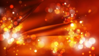 Abstract Cool Orange Defocused Lights Background Image